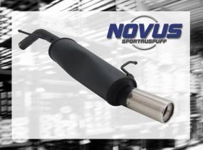 Novus Endschalldämpfer 1 x 90mm 207 Peugeot 207 WA/WC