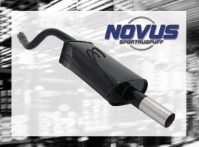Novus Endschalldämpfer 1 x 60mm Fiat Punto II Fiat Punto II 188