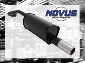 Novus Endschalldämpfer 1 x 76mm VW Lupo Volkswagen Lupo 6X