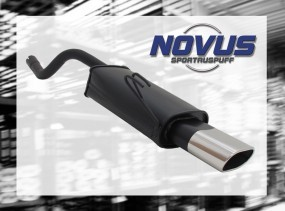 Novus Endschalldämpfer 75 x 135mm Fiat Punto II Fiat Punto II 18
