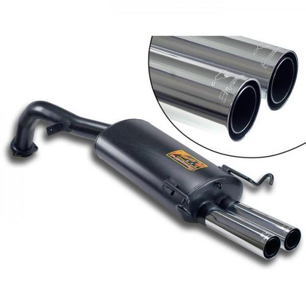 Supersprint Endschalldämpfer OO60 - (Austrittsrohr mittig)