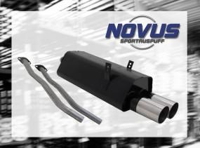 Novus Endschalldämpfer 2 x 90mm RL-Design BMW E36 Touring BMW E3
