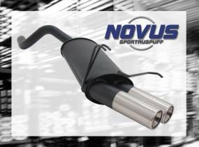 Novus Endschalldämpfer 2 x 76mm M-Design Ypsilon LANCIA Ypsilon