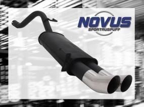 Novus Endschalldämpfer 2 x 76mm DTM Fiat Grande Punto Fiat Grand