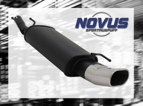 Novus Endschalldämpfer 75 x 135mm DTM Ford Fiesta Ford Fiesta JA