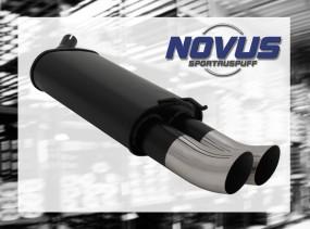 Novus Endschalldämpfer 2 x 76mm DTM Renaul Twingo Renault Twingo