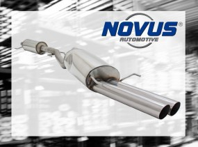Novus Gruppe A Anlage 2 x 76mm MS-Design Opel Astra G Coupe / Ca