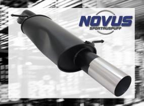 Novus Endschalldämpfer 1 x 90mm RL-Design Citroen C3 Pluriel Cit