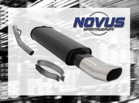 Novus Endschalldämpfer 75 x 135mm DTM Opel Vectra A Opel Vectra