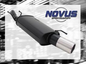 Novus Endschalldämpfer 1 x 90mm Ford Fiesta Ford Fiesta JAS/JBS