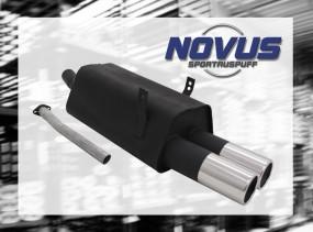 Novus Endschalldämpfer 2 x 90mm M-Design BMW E36 Touring BMW E36