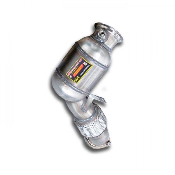 Supersprint Rohrsatz ab Turbolader + Sport Metallkatalysator Rec