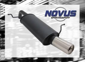 Novus Endschalldämpfer 1 x 90mm Ford Fiesta Ford Fiesta JA8
