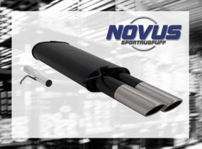 Novus Endschalldämpfer 2 x 76mm SR-Design VW Passat Volkswagen P