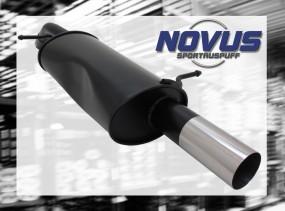 Novus Endschalldämpfer 1 x 76mm RL-Design Citroen C3 Pluriel Cit