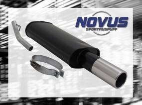 Novus Endschalldämpfer 1 x 90mm Opel Vectra A Opel Vectra A A/-C