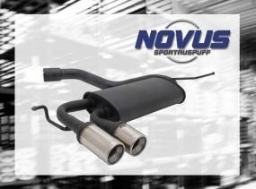 Novus Endschalldämpfer 2 x 76mm M-Design VW Scirocco III Volkswa