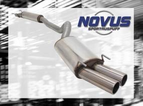 Novus Gruppe A Anlage 2 x 76mm M-Design Opel Corsa B Opel CORSA