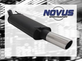 Novus Endschalldämpfer 1 x 90mm SR-Design VW Golf IV Cabrio Volk