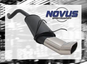 Novus Endschalldämpfer 75 x 135mm DTM Ypsilon LANCIA Ypsilon 843