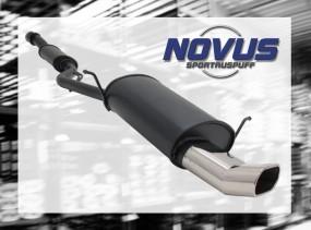 Novus Endschalldämpfer 75 x 135mm DTM BMW E36 Compact BMW E36 Co