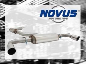 Novus Gruppe A Anlage 1 x 90mm MS-Design li/re VW Golf VI GTI /