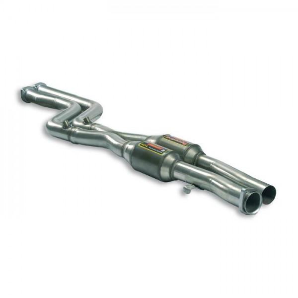 Supersprint Vorschalldämpfer mit Sport Metallkatalysator + X-Pip