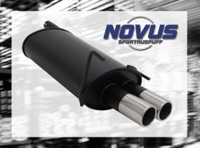 Novus Endschalldämpfer 2 x 76mm M-Design CLK-Klasse inkl. Cabrio