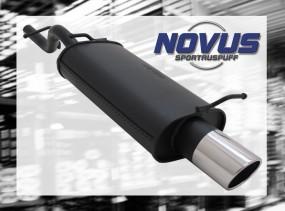 Novus Endschalldämpfer 1 x 90mm SR-Design Ford KA Ford KA RBT